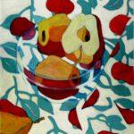Stillleben mit Äpfeln von Max Holst: Malerei für Öl-und Acryl-Bilder, Gemälde und Porträts, Grafikdesign und handgefertigte Objekte aus der Lüneburger Heide.