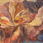 Bild einer Blüte von Max Holst: Malerei für Öl-und Acryl-Bilder, Gemälde und Porträts, Grafikdesign und handgefertigte Objekte aus der Lüneburger Heide.