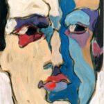 Porträt von Max Holst: Malerei für Öl-und Acryl-Bilder, Gemälde und Porträts, Grafikdesign und handgefertigte Objekte aus der Lüneburger Heide.