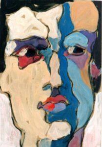 Christian, Acryl, 25 x 35 cm
