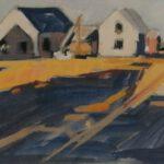 Bild von Häusern in Dänemark von Max Holst: Malerei für Öl-und Acryl-Bilder, Gemälde und Porträts, Grafikdesign und handgefertigte Objekte aus der Lüneburger Heide.