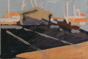 Dänemark, Acryl, 30 x 21 cm