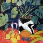 Bild einer Fünffinger Palme von Max Holst: Malerei für Öl-und Acryl-Bilder, Gemälde und Porträts, Grafikdesign und handgefertigte Objekte aus der Lüneburger Heide.