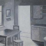 Gannerbarg, Acryl, 120 x 91 cm