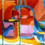 Bild mit mehreren Gläsern von Max Holst: Malerei für Öl-und Acryl-Bilder, Gemälde und Porträts, Grafikdesign und handgefertigte Objekte aus der Lüneburger Heide.
