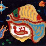 Bild eines Goldfisches von Max Holst: Malerei für Öl-und Acryl-Bilder, Gemälde und Porträts, Grafikdesign und handgefertigte Objekte aus der Lüneburger Heide.