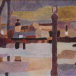 Hafenbild von von Max Holst: Malerei für Öl-und Acryl-Bilder, Gemälde und Porträts, Grafikdesign und handgefertigte Objekte aus der Lüneburger Heide.