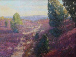 Heide, Öl, 50 x 35 cm