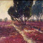 Bild mit Heide von Max Holst: Malerei für Öl-und Acryl-Bilder, Gemälde und Porträts, Grafikdesign und handgefertigte Objekte aus der Lüneburger Heide.