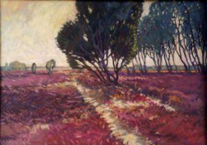 Heide, Öl, 60 x 40 cm