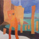 Helgoland, Acryl, 70 x 50 cm