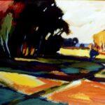 Herbstbild von Max Holst: Malerei für Öl-und Acryl-Bilder, Gemälde und Porträts, Grafikdesign und handgefertigte Objekte aus der Lüneburger Heide.