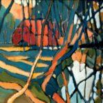 Bild der Holmer Mühle in Holm von Max Holst: Malerei für Öl-und Acryl-Bilder, Gemälde und Porträts, Grafikdesign und handgefertigte Objekte aus der Lüneburger Heide.