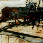 Bild von Hvidesande in Dänemark. von Max Holst: Malerei für Öl-und Acryl-Bilder, Gemälde und Porträts, Grafikdesign und handgefertigte Objekte aus der Lüneburger Heide.