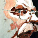 Porträt eines Mannes von Max Holst: Malerei für Öl-und Acryl-Bilder, Gemälde und Porträts, Grafikdesign und handgefertigte Objekte aus der Lüneburger Heide.