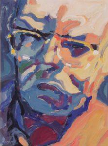 Klaus, Acryl, 30 x 40 cm