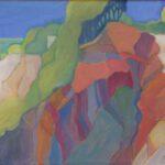 Auf dem Bild sind Kreidefelsen dargestellt. Bild von Max Holst: Malerei für Öl-und Acryl-Bilder, Gemälde und Porträts, Grafikdesign und handgefertigte Objekte aus der Lüneburger Heide.