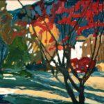 Bild eines Kurparks von Max Holst: Malerei für Öl-und Acryl-Bilder, Gemälde und Porträts, Grafikdesign und handgefertigte Objekte aus der Lüneburger Heide.