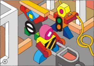 Logo-Figuren, Cartoon, Grafik