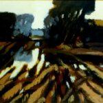 Das Bild von Max Holst zeigt Spuren einer militärischen Übung. Hergestellt von Max Holst: Malerei für Öl-und Acryl-Bilder, Gemälde und Porträts, Grafikdesign und handgefertigte Objekte aus der Lüneburger Heide.