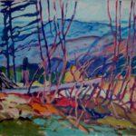 Mausberg, Öl, 70 x 50 cm