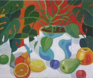 Palme, Acryl, 60 x 50 cm, Auftragsarbeit