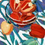 Paprika, Öl, 50 x 60 cm