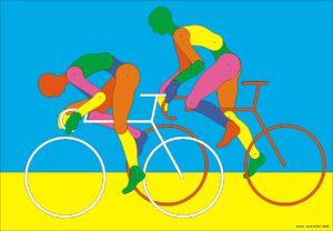 Racer, Grafik, 100 x 70 cm