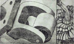Radierung I, 30 x 40 cm