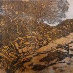 Radierung II, 40 x 30 cm