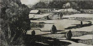 Radierung IV, 40 x 30 cm