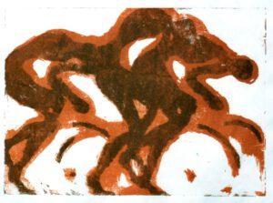 Radler, Alugrafie, 30 x 20 cm