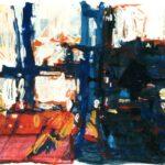 Reiherstieg, Acryl, 30 x 20 cm