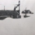 Schottland II, Bleistift, 70 x 50 cm