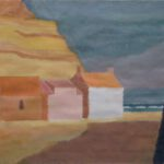Schottland IV, Acryl, 70 x 50 cm