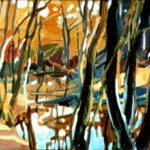 Seeve, Öl, 70 x 50 cm