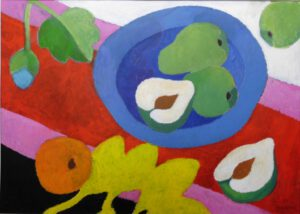 Stillleben IV, Acryl, 100 x 70 cm
