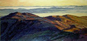 Südschwarzwald, Acryl, 200 x 90 cm, Auftragsarbeit