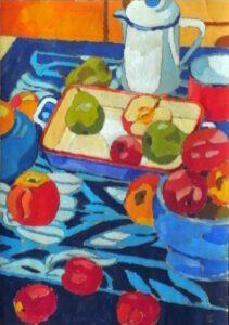 Wandbild I, Acryl, 90 x 120 cm, Auftragsarbeit