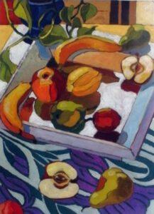 Wandbild V, Acryl, 90 x 120 cm, Auftragsarbeit