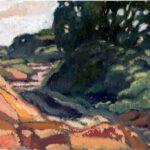 Welle, Öl, 30 x 20 cm