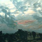 Bild vom Wilsederberg von Max Holst: Malerei für Öl-und Acryl-Bilder, Gemälde und Porträts, Grafikdesign und handgefertigte Objekte aus der Lüneburger Heide.