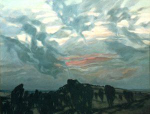Wilsederberg, Öl, 117 x 90 cm