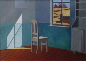 Zimmer, Acryl, 100 x 70 cm