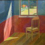 Zimmer, Acryl, 50 x 40 cm